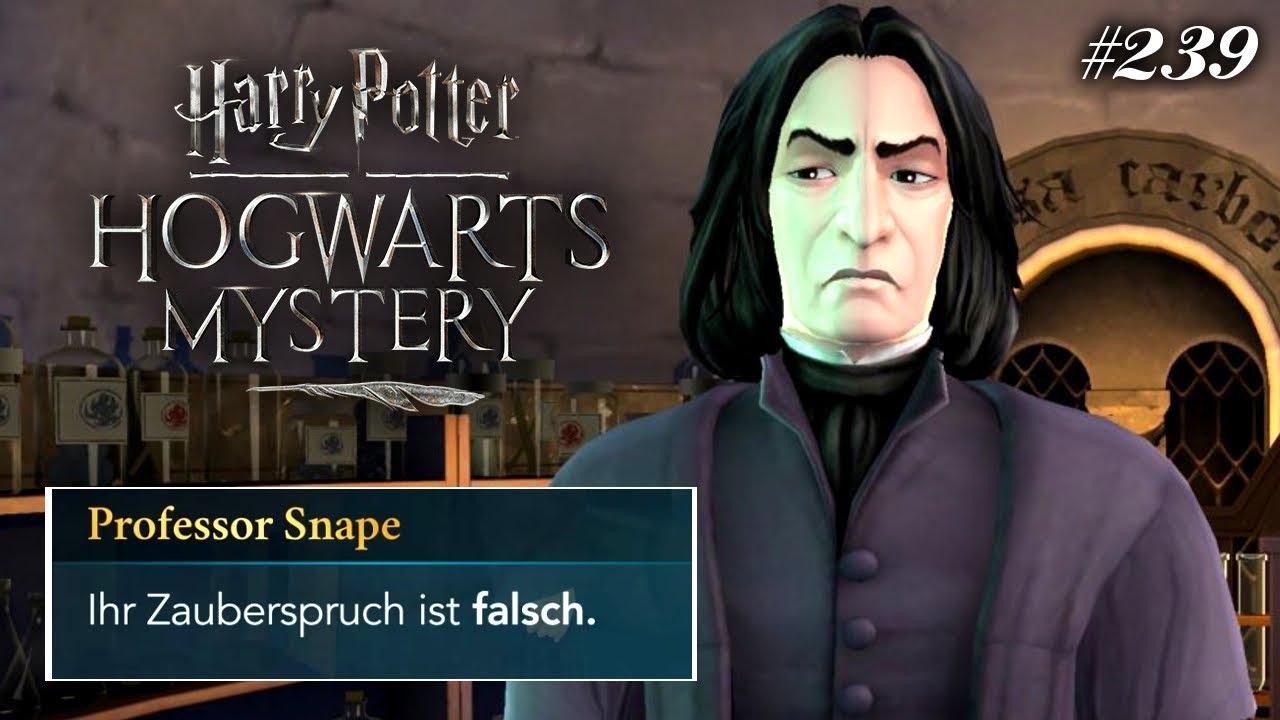 So Erfindet Man Zauberspruche Harry Potter Hogwarts Mystery 239 Youtube