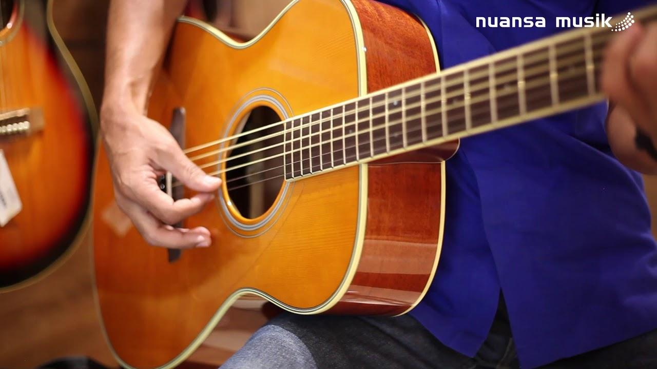Yamaha Fsta Series Transacoustic Gitar Akustik Yang Ada Reverb Nya Youtube