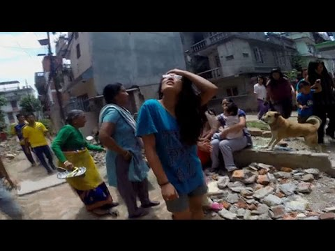 Panic in Kathmandu