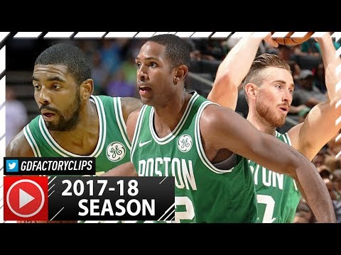 Kyrie Irving, Gordon Hayward & Al Horford PS Highlights vs Hornets 20171011  SICK!