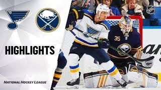 NHL Highlights | Blues @ Sabres 12/10/19