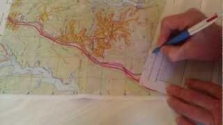 3 of 3 - Map Contours and Drawing a Relief Diagram
