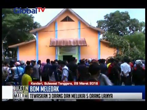 Bom meledak di Universitas Haluoleo saat latihan pengamanan kampus, 3 orang tewas - BIM 29/03