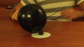 Hovercraft Balloon Cool Science Experiment