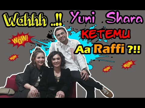 """Pertemuan Raffi & Yuni Shara setelah sekian lama """"hanya di vlog Kristina"""""""