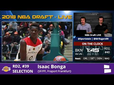Los Angeles Lakers Select Isaac Bonga With Pick #39 In 2nd Round Of 2018 NBA Draft