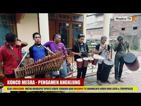 Konco Mesra - Nella Kharisma | Pengamen Angklung Instrumental