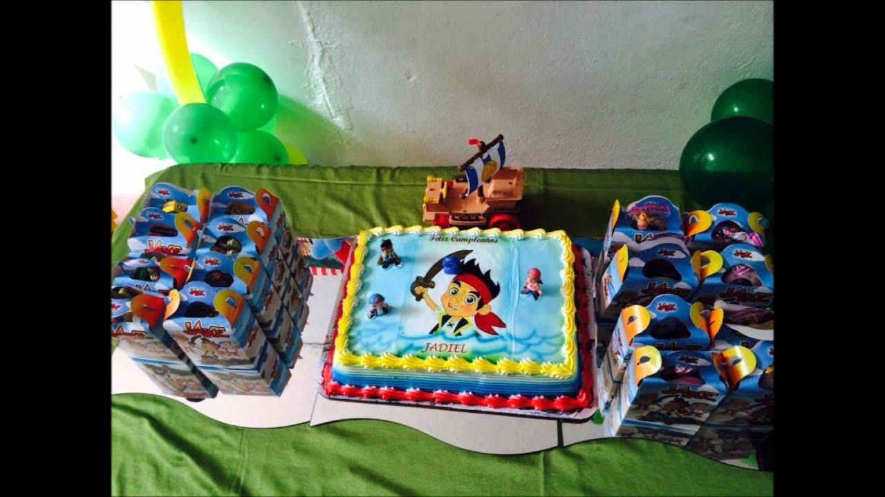 Decoraciones De Fiestas Infantiles De Jake Y Los Piratas