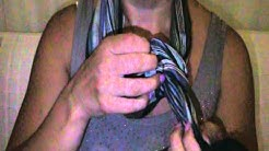 Anleitung - Seidenschal binden und knoten