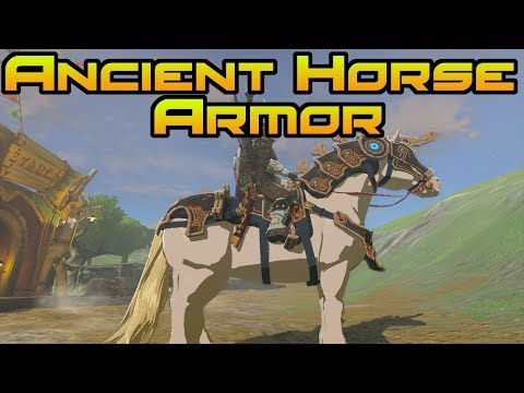 HOW TO GET THE ANCIENT HORSE ARMOR! // Zelda BOTW: The Champions' Ballad // BEST HORSE ARMOR!
