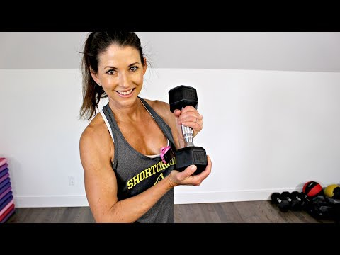 20 MINUTE TOTAL BODY DUMBBELL WORKOUT - ALTERNATIVE TO SANDBAG WORKOUT