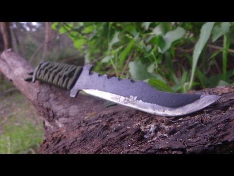 How to make a Tactical Steel Knife