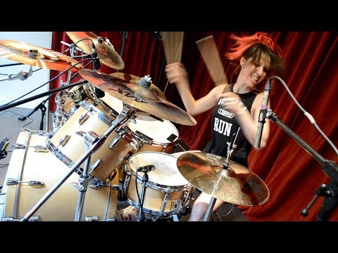 "Megadeth ""Sweating Bullets"" Drum Cover (by Nea Batera)"