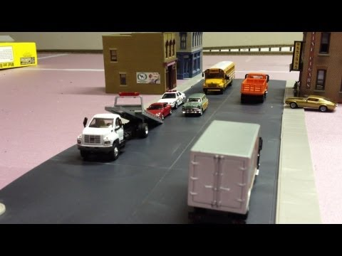 Alberta HO Layout - Part 8.  Town & benchwork updates and some new BC Rail toys