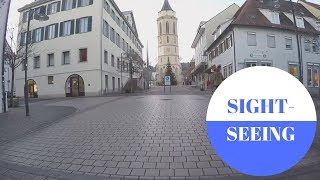 Sightseeing in Balingen in GERMANY