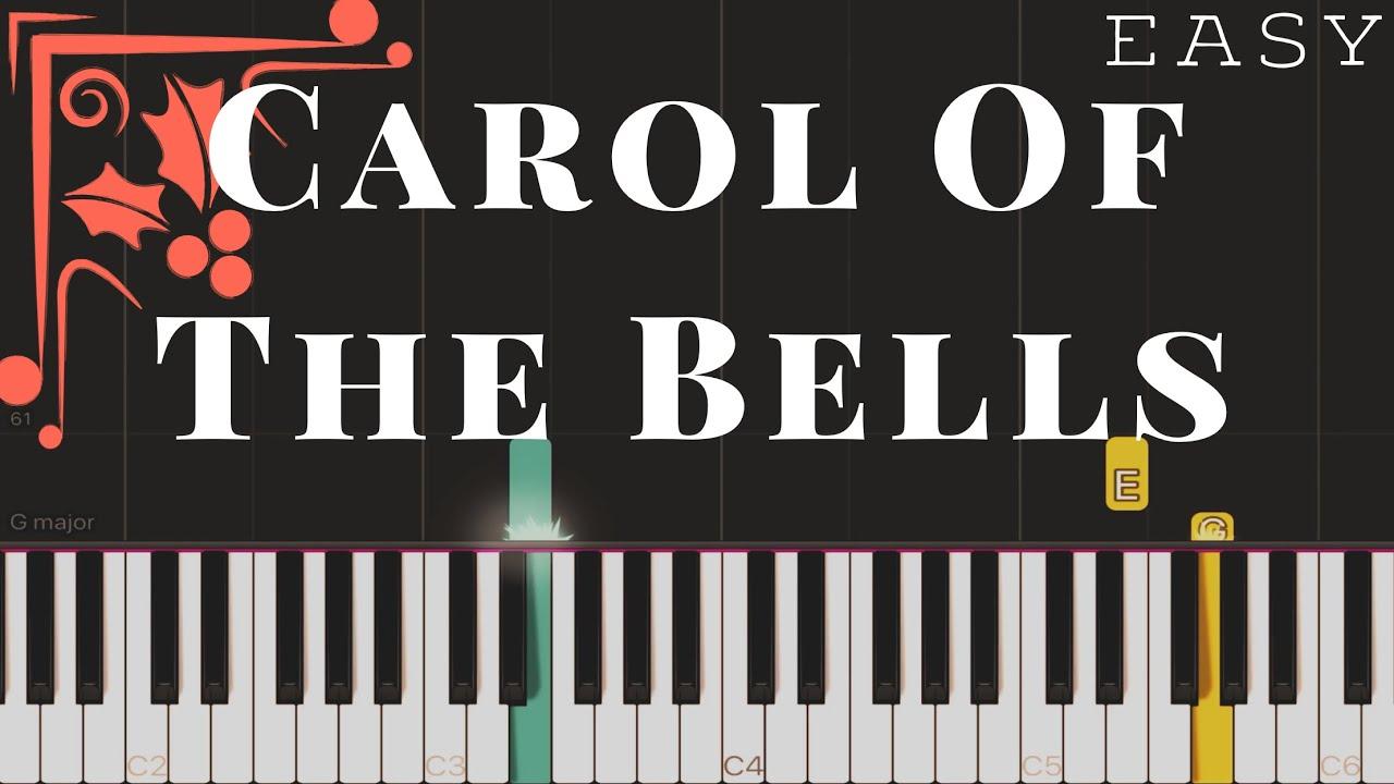 Download Carol Of The Bells | EASY Piano Tutorial