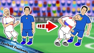 ZIDANE HEADBUTT World Cup Final 2006 Football Flashback Italy vs France Materazzi