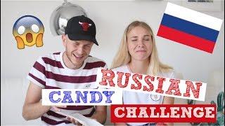 RUSSIAN CANDY CHALLENGE mit Dennis😱 |PatriziaPalme