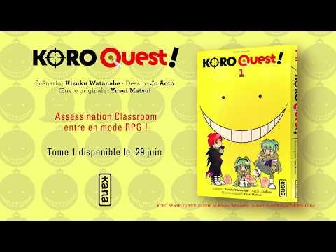 bande annonce de l'album Koro Quest! T1