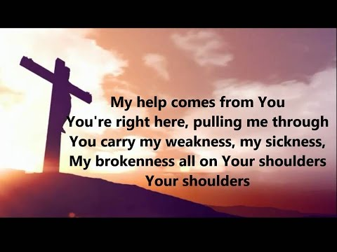 Shoulders- For King & Country- Lyrics on Screen