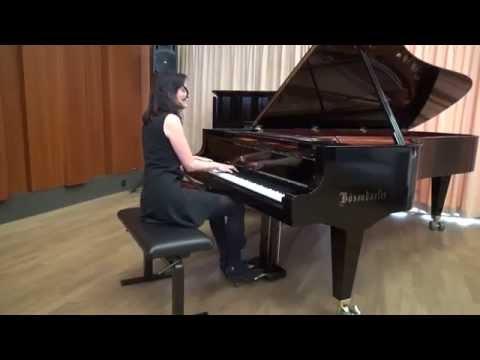 Dora Deliyska plays Danzas Argentinas on Bösendorfer 280