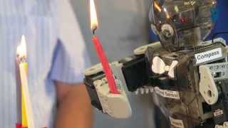 Robots Hanukkah Party at Technion - Israel Institute of Technology חנוכה בטכניון
