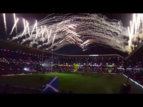 Scotland v Argentina lights out start