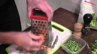 БИО Кухня Овощной салат с творогом на скорую руку