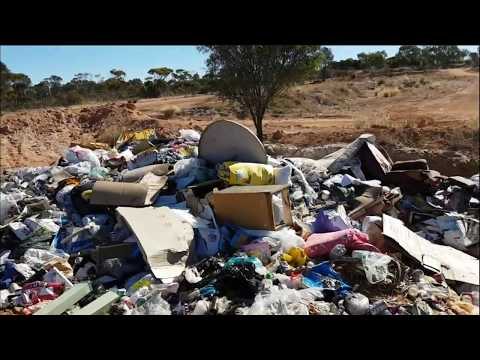 Wednesday Adventures with Wild Warrior Bill in Rural Western Australia - Rubbish Dump Day