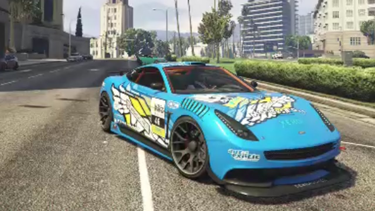 GTA 5 Online Customization - Massacro RACECAR (PS4) - YouTube