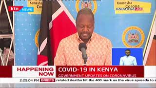 699 positive cases, 5 deaths, 781 recoveries: COVID-19 updates in Kenya by MoH | FULL VIDEO