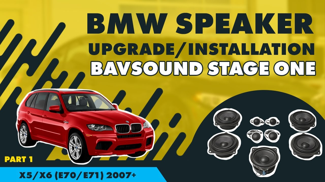 bmw e46 amplifier wiring diagram    bmw    speaker upgrade installation x5 x6  e70 e71  2007     bmw    speaker upgrade installation x5 x6  e70 e71  2007