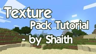 Gambar cover Minecraft texture pack creation tutorial - Shaith from ShogunCraft