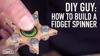 DIY Guy: How To Make A Fidget Spinner