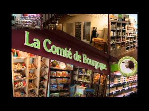 La Comté Bourgogne le magasin de produits régionaux de Franche Comté à Dijon