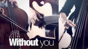 Without You (Avicii) | Fingerstyle Guitar, Cello & Bass cover