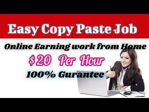 Copy Paste Job Daily Payment