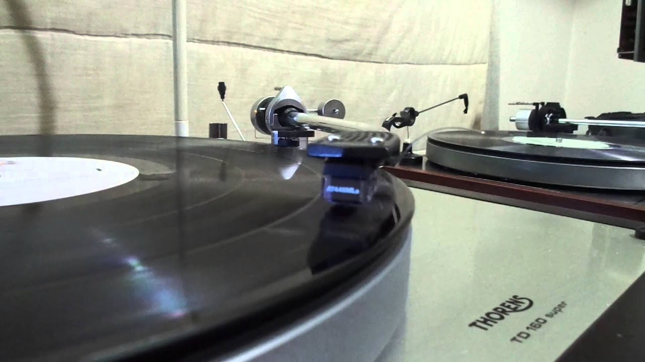 george benson breezin vinyl audio technica 440mla thorens