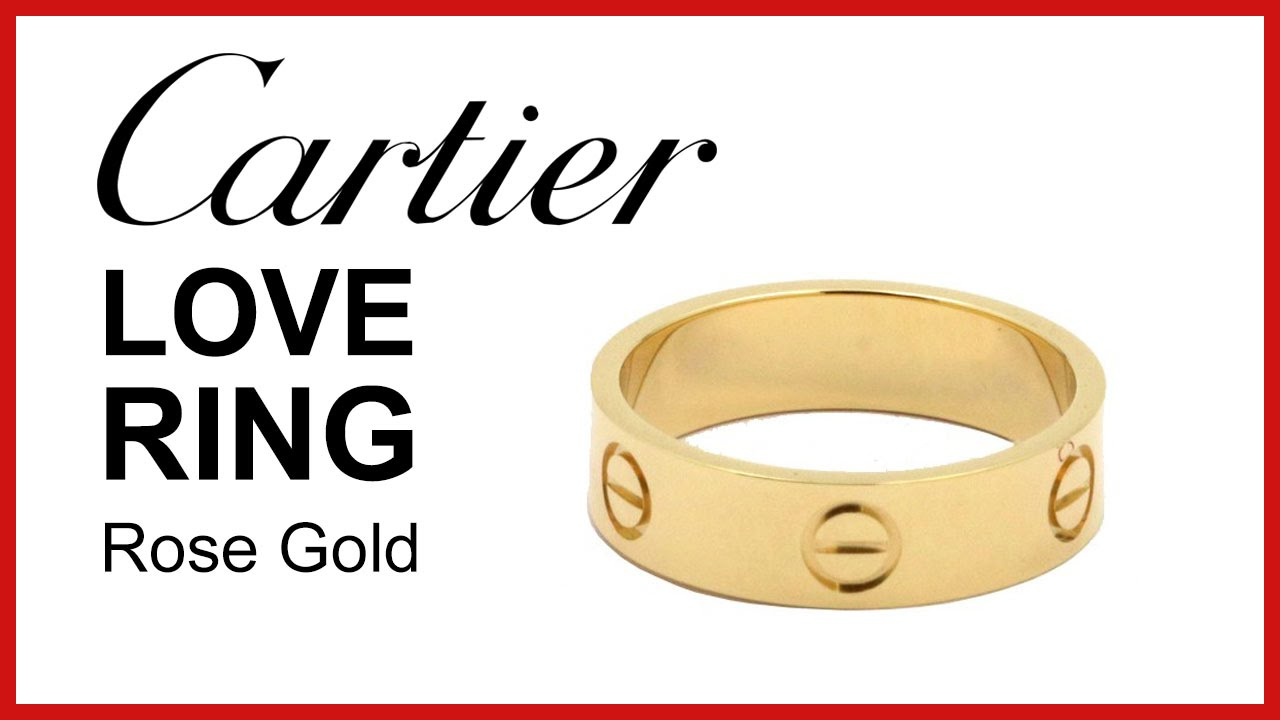 Cartier Love Ring Unboxing