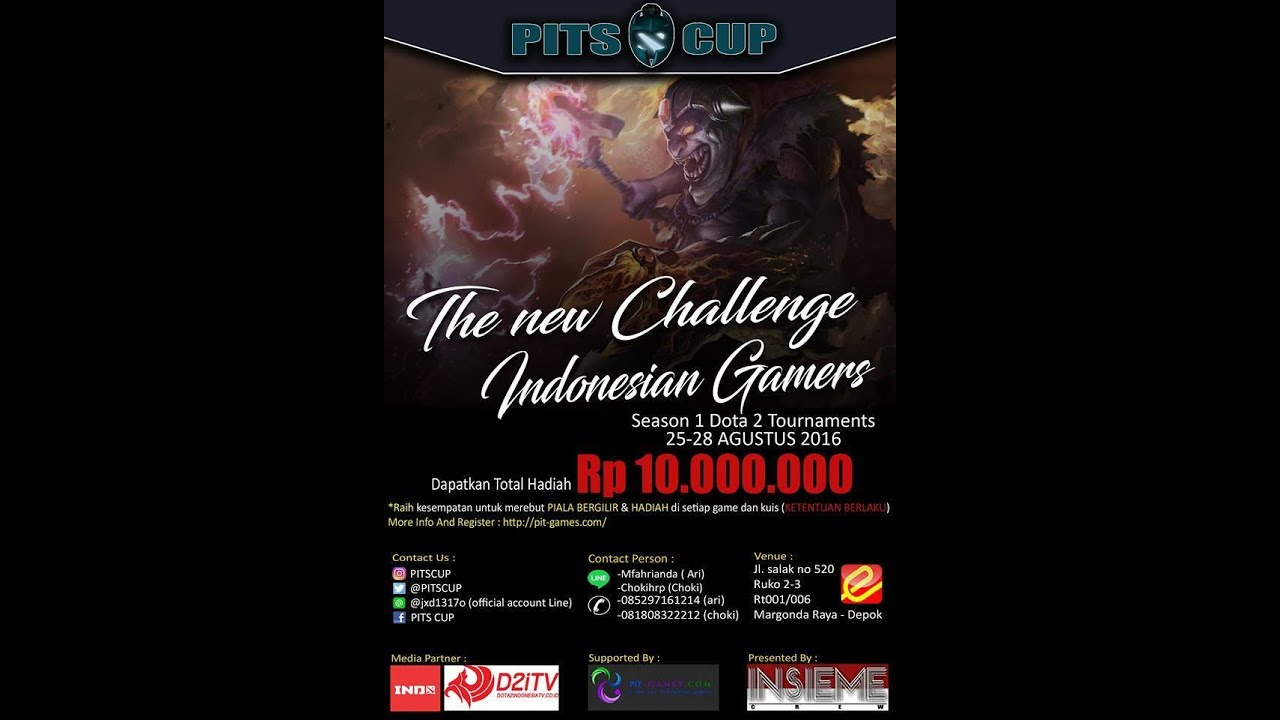 pit s cup dota 2 tournament youtube