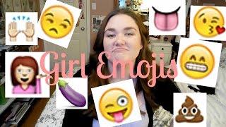 WHAT A GIRL'S EMOJIS MEAN |Rachel Ann