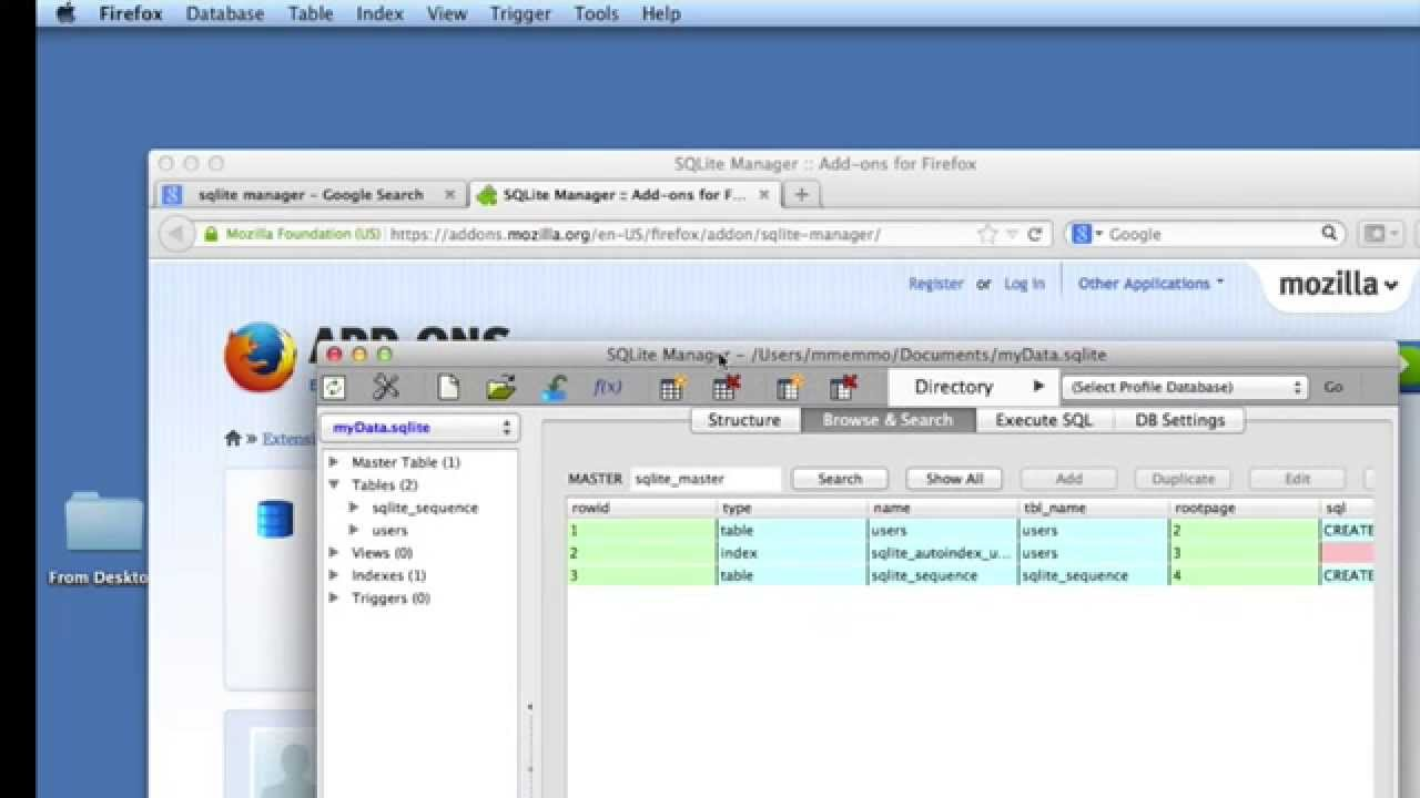 database software for mac. Create A MySQL / SQLite Database On MAC (to Use In IPhone App) - YouTube Software For Mac G