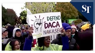 Supreme Court leans toward Trump on ending DACA