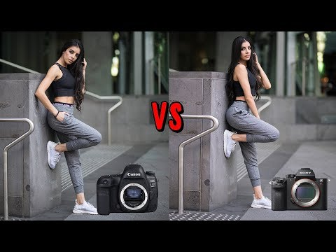 DSLR vs Mirrorless Camera for Portrait Photography