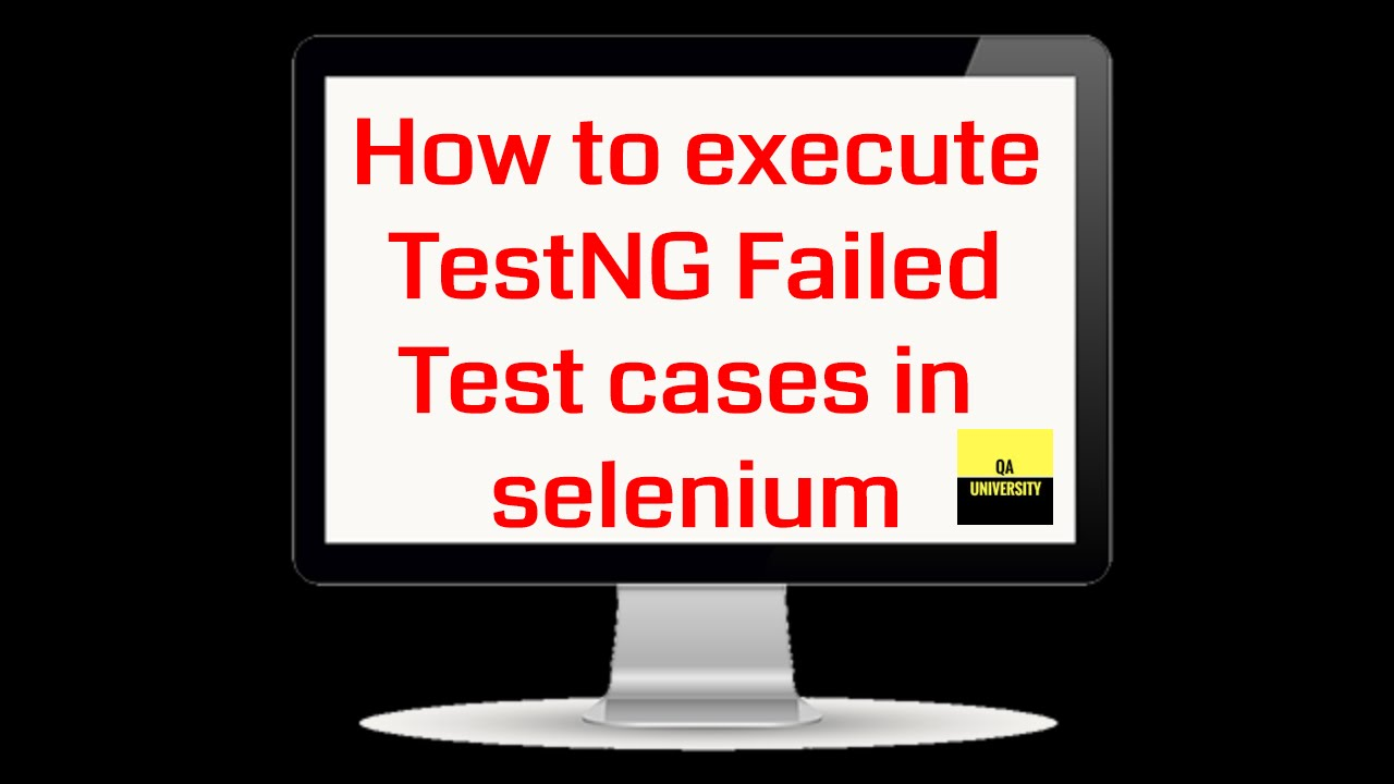 TestNG Failed Test cases re-execution in selenium