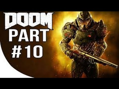 Let's Play DOOM 4 Part 10: Titans Realm!