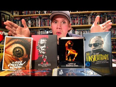 Limited Edition Horror Blu-ray Steelbooks and Mediabooks Unboxing