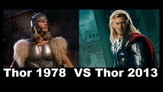 Thor 1978 vs Thor 2013 [ comparison ]