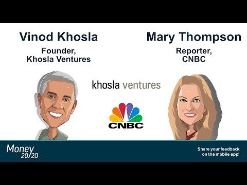 Keynote: Vinod Khosla (Khosla Ventures) & Mary Thompson (CNBC)