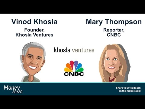 Keynote: Vinod Khosla (Khosla Ventures) & Mary Thompson (CNBC)